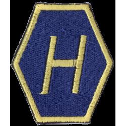 """Broderat tygmärke """"H"""" Höger..."""
